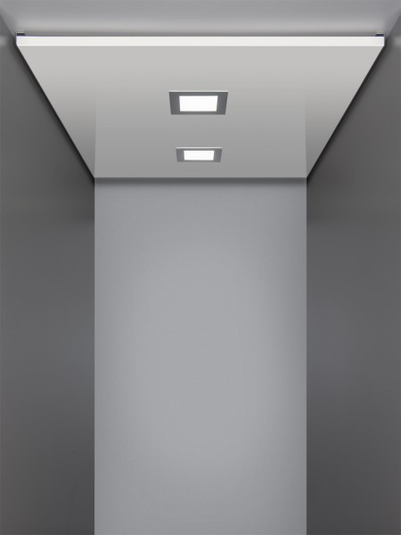 Kabinendecke bis 1400 / 1100 mm